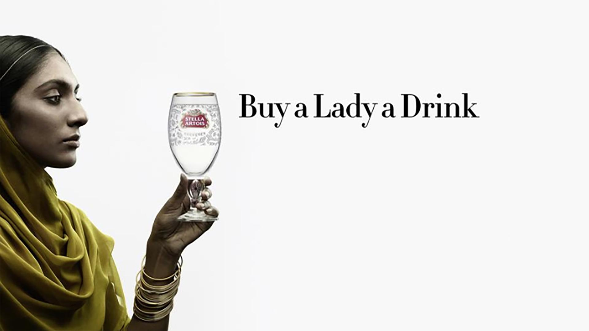 Stella Artois - Buy a Lady a Drink