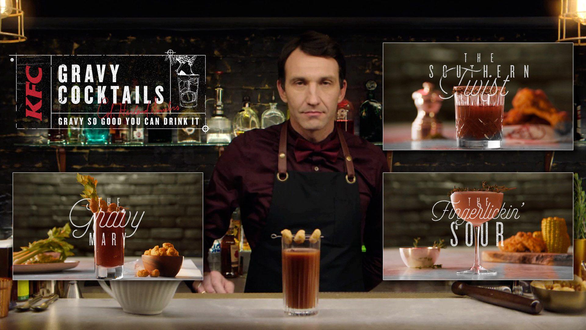 KFC - Gravy Cocktails
