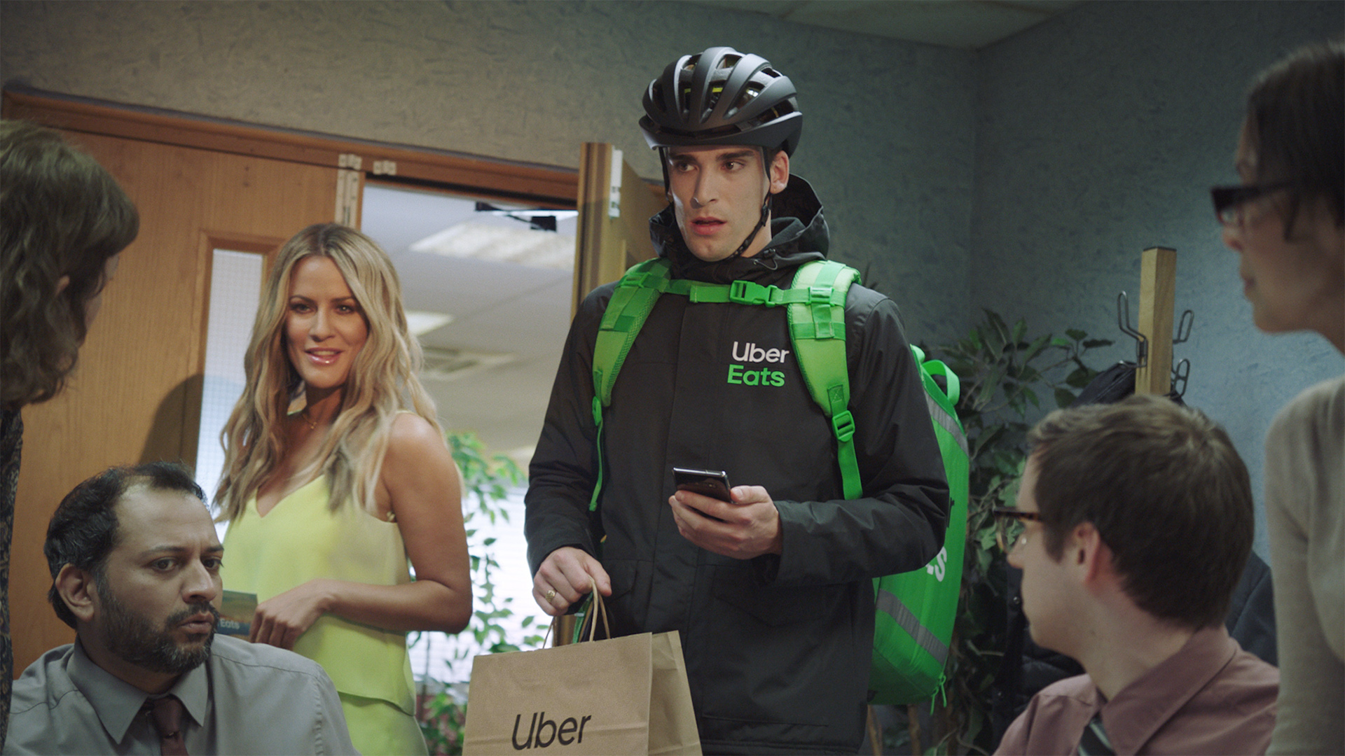 Uber Eats Hungryforloveisland Mother London
