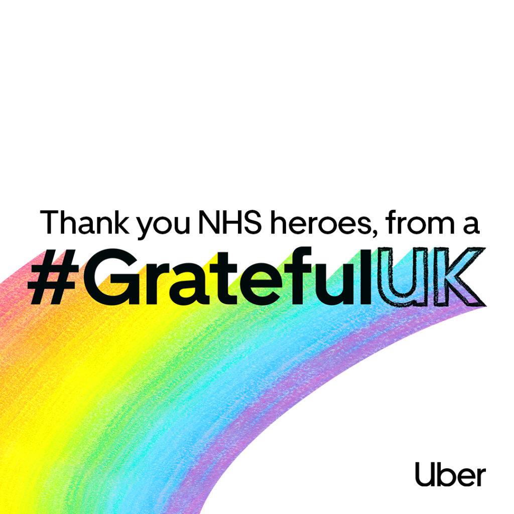 Uber - #GratefulUK