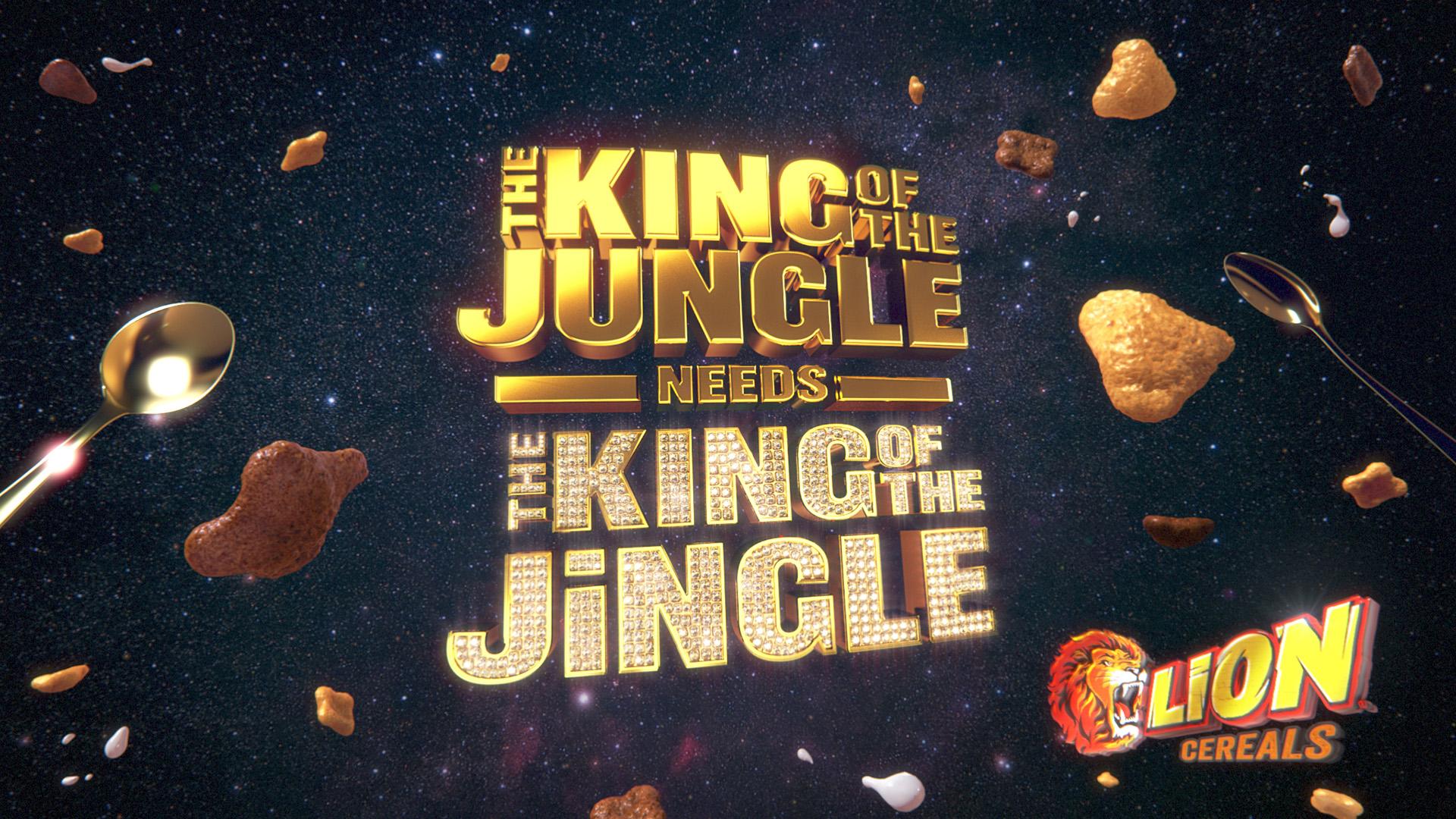 Lion 'King of the Jingle'