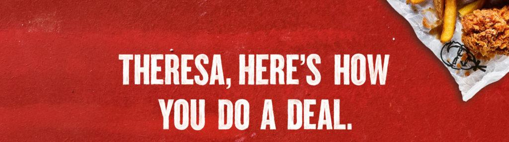 Terms Of Use >> KFC 'Theresa' - Mother - London